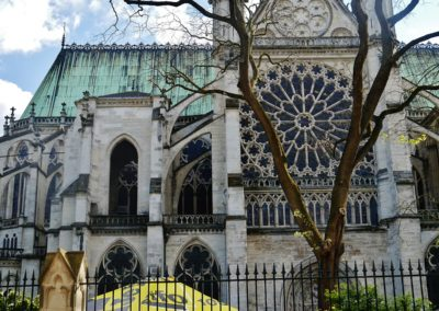 Le mètre à Saint-Denis